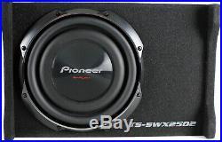 10 Inch 1200 Watt Shallow Mount 4 OHM Subwoofer Pre-Loaded Sub Car Trunk Audio