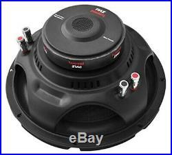 10 inch Car Audio Subwoofer Speaker Sub Dual 4 Ohm Enclosure Box Bass 1000 Watt