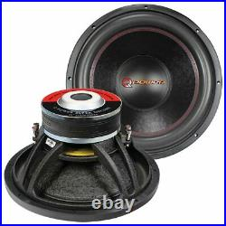 15 Inch Woofer 4000 Watts Max DVC Car Audio Dual 4 Ohm Subwoofer Bass Speaker