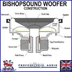 15 inch Sub Woofer Speaker Bass Driver 600w RMS 8ohm