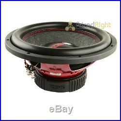 1 DS18 GEN-X124D 12 Inch Subwoofer 900 W Max Dual 4 Ohm Bass Sub Woofer Speaker