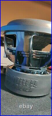 1 SUNDOWN AUDIO X-12 V. 2 D2 SUB PRO 12 DUAL 2-OHM 1500W RMS BASS SUBWOOFER used