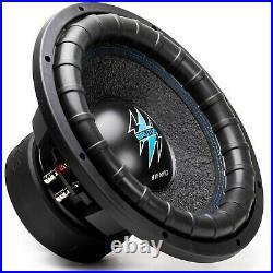 1x Hifonics BRW10D4 1600 Watts 10 Inch BRUTUS Car Audio Dual 4 Ohms Subwoofer