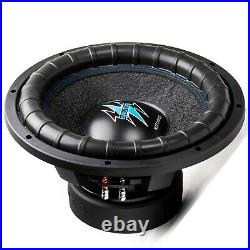 1x Hifonics BRW12D4 2000 Watts 12 Inch BRUTUS Car Audio Dual 4 Ohms Subwoofer