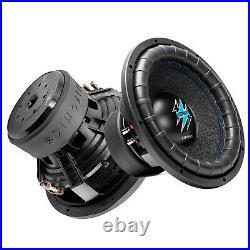 1x Hifonics BRW15D4 3000 Watts 15 Inch BRUTUS Car Audio Dual 4 Ohms Subwoofer