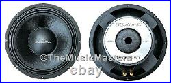 (2) 12 inch Home Stereo Sound Studio WOOFER Subwoofer Speaker Bass Driver 8 Ohm