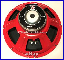 (2) 15 inch Home Stereo Sound Studio WOOFER Subwoofer Speaker Bass Driver 8 Ohm