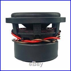 (2) 8 Inch Car Audio Subwoofer Dual Voice Coil 4 Ohm 2800W Massive Hippo XL 84
