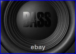 2 Alpine W12S4 Bassline Series 12 Inch 4 Ohm 750 Watt Peak Car Audio subwoofer