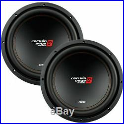 2 Cerwin-Vega XED12V2 1000 Watt 12 Inches Single 4 Ohm Car Audio Subwoofers