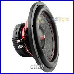 2 DS18 GEN-X124D 12 Inch Subwoofer 900 W Max Dual 4 Ohm Bass Sub Woofer Speaker
