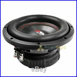 2 DS18 SLC-8S 8 Inch Subwoofer 400 Watts Max Power 4 Ohm Sub Select Series Pair