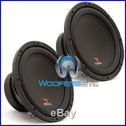 (2) Focal Sub P25 10 Subs 800w Max 4-ohm Car Audio Subwoofers Bass Speakers New