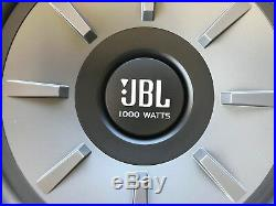 2 JBL STAGE 1210D 1PR. 12 DVC Dual 4 Ohm Subwoofers 12-Inch Woofers 2000 Watts