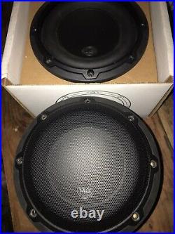 2 JL Audio 6w3v3-4 6.5 Inch 17cm 150 Watts 4 Ohms Single Car Sub Subwoofer