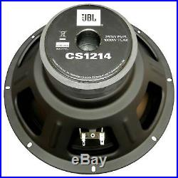 2 Jbl Cs1214 Subs 12 1000w Subwoofers 4 Ohm Car Audio Bass Pair Speakers New