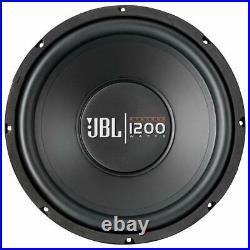 2 Jbl Gt-x1200 12 2400 Watt Single 4-ohm Subwoofers Bass Speaker Car Audio Sub