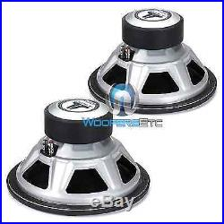 2 Jl Audio 12w3v3-4 Car 12 Subs 4-ohm 2000w Max Subwoofers Bass Speakers New