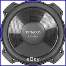 (2) KENWOOD EXCELON KFC-XW120 12-INCH 4-ohm COMPONENT SUBWOOFERS 4000 WATTS PEAK