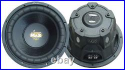 2 Lanzar MAXP154D Max Pro 15-Inch 2000W Small-Enclosure Dual 4-Ohm Subwoofers