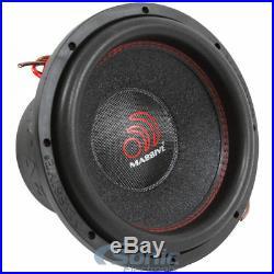 (2) MASSIVE AUDIO SUMMOXL 104 10 inch 6000 Watt Dual 4 ohm Car Subwoofers Subs
