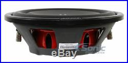 (2) MB QUART DS1-254 400W 10 Inch Dual 4-Ohm Shallow Mount Car Subwoofers/Subs
