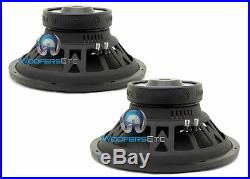 (2) Memphis Br15s4 Subs 15 800w Single 4-ohm Car Subwoofers Bass Speakers New