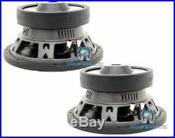 (2) Memphis Mcr10s4 10 Subs Car Svc 4-ohm 600w Subwoofers Bass Speakers New