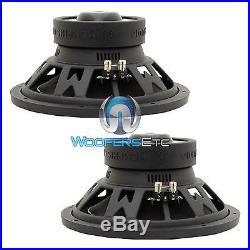 2 Memphis Pr12s4v2 Car Sub 4 Ohm 12 1000w Loud Pro Bass Subwoofers Speakers New
