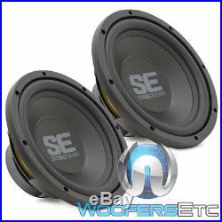2 Memphis Se1040 10 Subs 400w Single 4-ohm Car Audio Subwoofers Bass Speakers