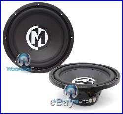 2 Memphis Srx12d4 12 Subs 500w Subwoofers Dual 4ohm Car Audio Bass Speakers New