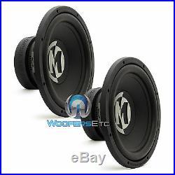 2 Open Box Memphis Pr12s4v2 Car Sub 4 Ohm 12 1000w Loud Pro Bass Subwoofers