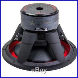2 Pack 15 Inch 2800 Watts Max Subwoofer Dual 4 Ohm Audiopipe TXX-BD4-15 TXXBD4