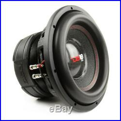 2 Pack DS18 EXL-XXB12.2D 12 Inch Subwoofer 4000 Watts Max Dual 2 Ohm Competition