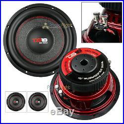 2 Pack DS18 GEN-X104D 10 Inch Subwoofer 800 W Max Dual 4 Ohm Bass Sub Woofer