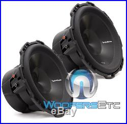 2 Rockford Fosgate Punch P3d4-12 Subs 12 Dual 4-ohm 1200w Subwoofers Speakers