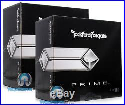 (2) Rockford Fosgate R2d4-10 Subs 10 Dual 4-ohm Subwoofers Bass Speakers New