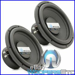 (2) Soundstream Bxw124 12 Subs 2400w Dual 4-ohm Subwoofers Bass Speakers New