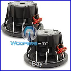 (2) Soundstream T5.124 Pro Subs 12 4000w Max Dual 4-ohm Subwoofers Speakers New