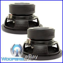 (2) Sundown Audio E-10 V. 3 D2 10 Subs 500w Rms Dual 2-ohm Subwoofers Speakers