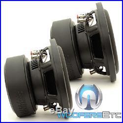 (2) Sundown Audio E-8 V. 5 D2 8 Subs 300w Rms Dual 2-ohm Car Subwoofers Speakers