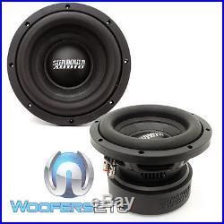 (2) Sundown Audio E-8 V. 5 D4 8 Subs 300w Rms Dual 4-ohm Car Subwoofers Speakers