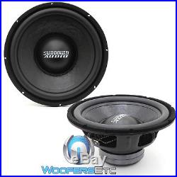 (2) Sundown Audio Lcs-12d4 12 Dual 4-ohm 300w Rms Subwoofers Bass Speakers New