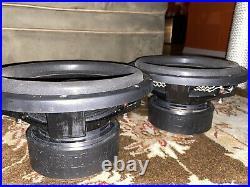(2) Sundown Audio Sa-15 D4 Classic 15 1000w Rms Dual 4-ohm Subwoofers Speakers