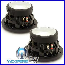 (2) Sundown Audio Sa-6.5 Sw D4 6.5 Subs 200w Rms Dual 4-ohm Subwoofers Speakers