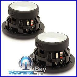 (2) Sundown Audio Sa-6.5 Sw D4 6.5 Subs 200w Rms Dual 4-ohm Subwoofers Speakers