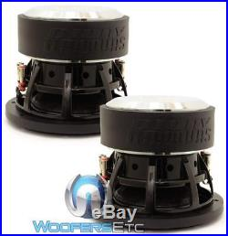 (2) Sundown Audio Sa-8 V. 3 D4 Subs 8 500w Dual 4-ohm Subwoofers Bass Speakers