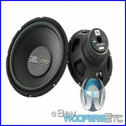 2 subs JBL GT-X1200 12 SUBS 1200W 4-OHM SUBWOOFERS BASS SPEAKERS CAR AUDIO NEW