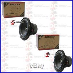 2 x AUDIOPIPE TXX-BD2-12 12-INCH 12 DUAL 4-OHM CAR AUDIO SUBWOOFER 800W RMS