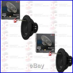 2 x ORION XTR124D 12-INCH 12 DUAL 4-OHM CAR AUDIO SUBWOOFER 600W RMS